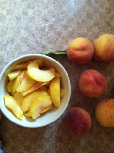 we are going to turn into peaches around here :)